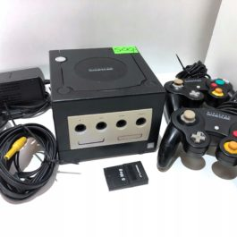 Konsola Nintendo GameCube + 2 pady + gra + karta