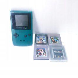 Nintendo Game Boy Color CGB-001 + gry