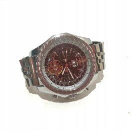 Zegarek z napisem bentley breitling nakręcany