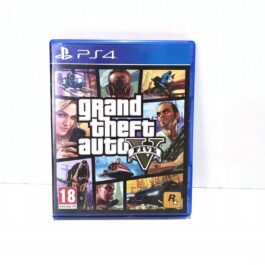 GTA GRAND THEFT AUTO V 5 PS4