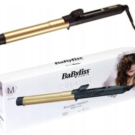 Lokówka BABYLISS C425E Ceramic Gold 25mm